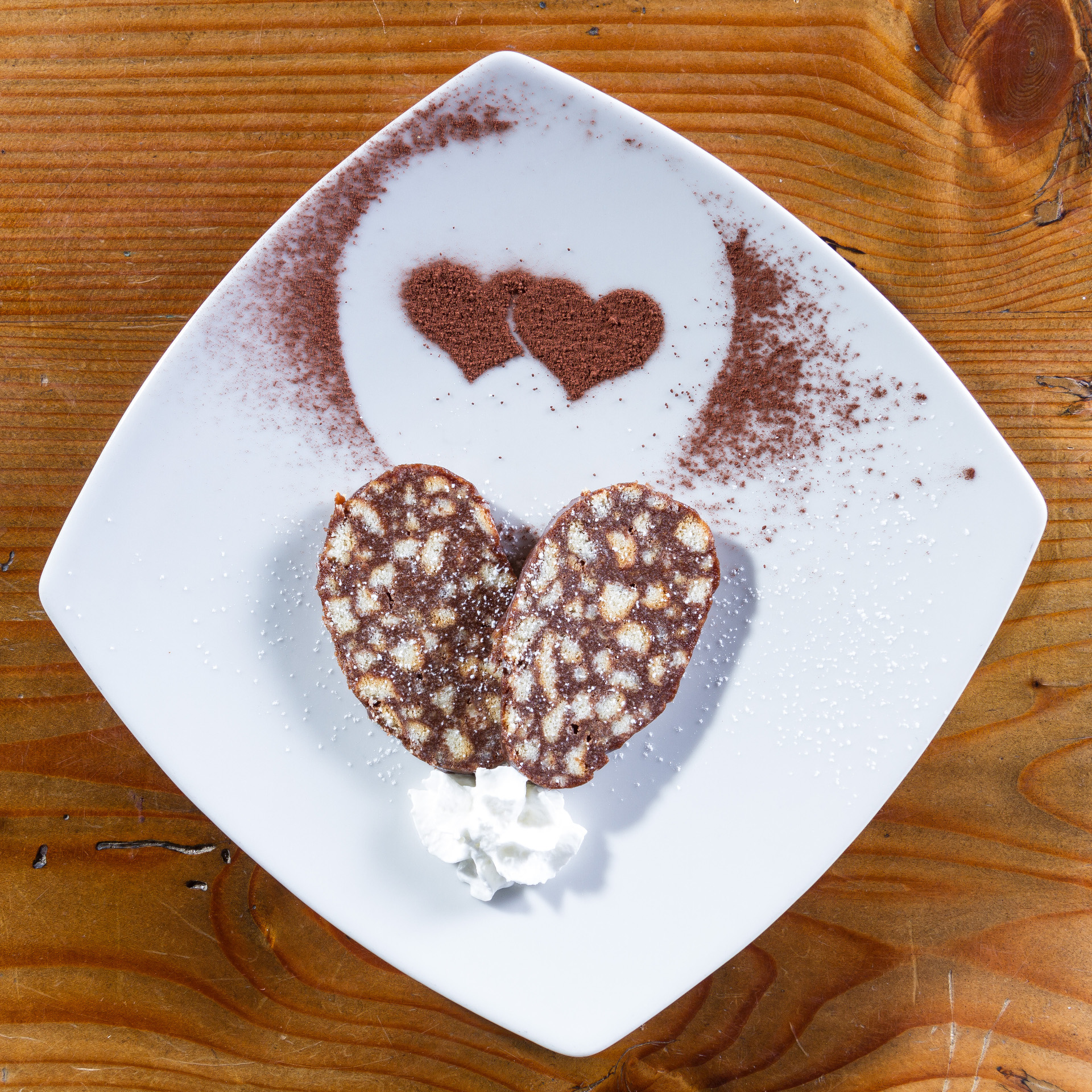 Ricetta marchigiana del salame di cioccolato